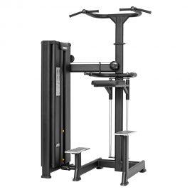 Stroj na biceps, triceps, ramená a chrbát Master Sport