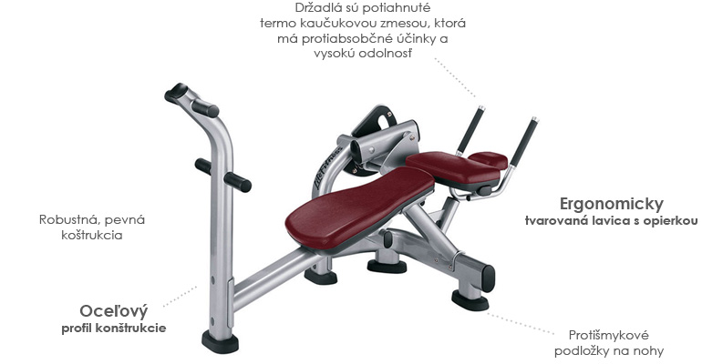 Life Fitness Signature Ab Crunch Cardio Amp Fitness Studio