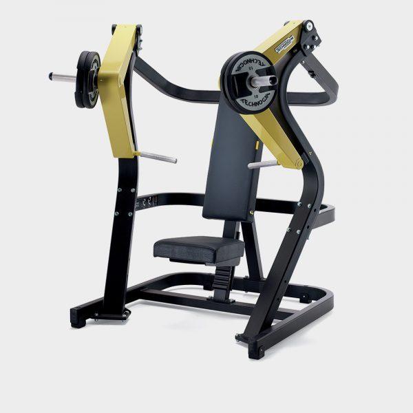 Posilňovací stroj na prsia - tlaky
