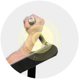 Držadlá stroja Purestrength Biceps