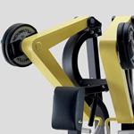 Nezávisle fungujúce ramená stroja Low Row