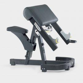 Posilňovacia lavica na bicepsy - Scott lavica