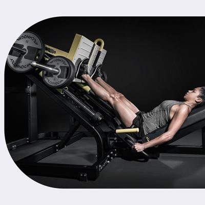 Tréning na stroji leg press