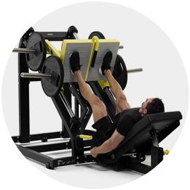 Ukážka cvičenia na stroji Leg Press