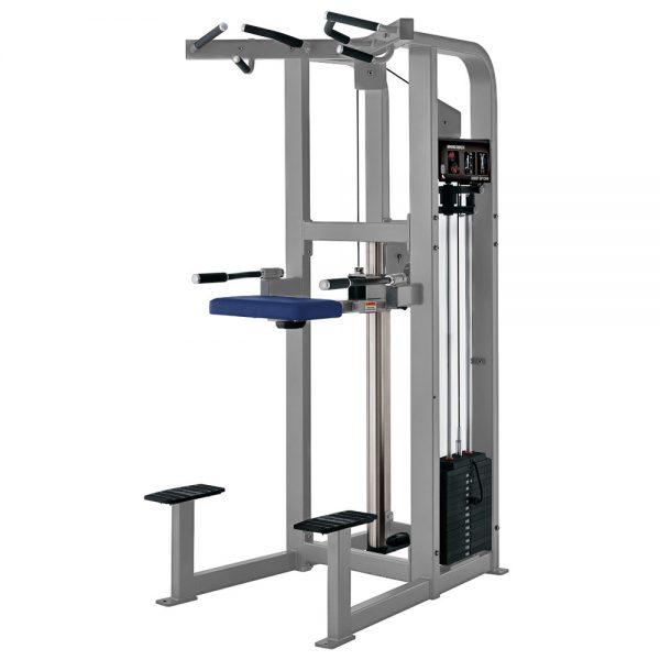 Stroj na základné silové cvičenie Hammer Strength sivý