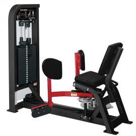 Stroj na cvičenie vnútorných stehenných svalov Hammer Strength čierny