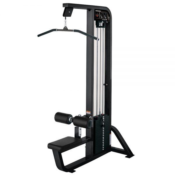 Kladkový stroj Hammer Strength čierny