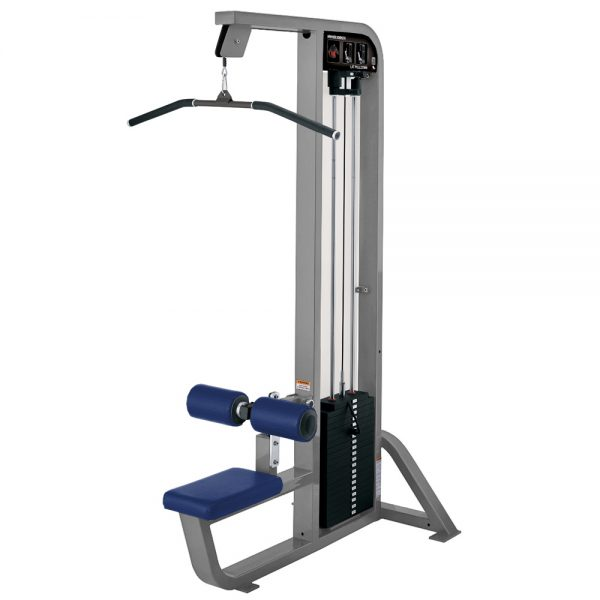 Kladkový stroj Hammer Strength sivý