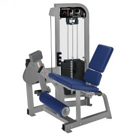 Stroj na posilňovanie kvadricepsov Hammer Strength sivý