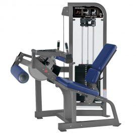 Stroj na posilňovanie hamstringov Hammer Strength sivý