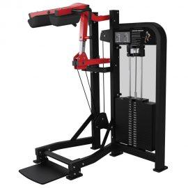 Stroj na posilňovanie lýtok Hammer Strength čierny