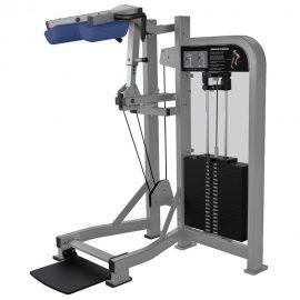 Stroj na posilňovanie lýtok Hammer Strength sivý