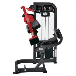 Stroj na cvičenie tricepsov Hammer Strength čierny