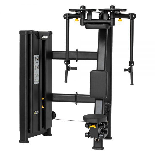 Stroj na posilňovanie prsných a chrbtových svalov Master Sport
