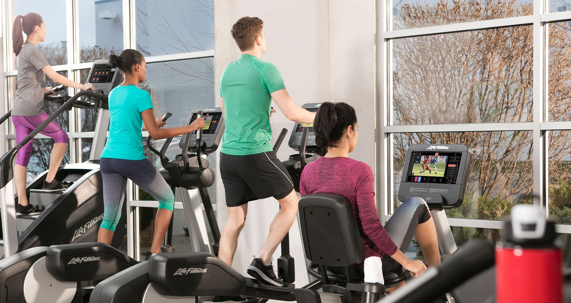 Life Fitness kardio zariadenia